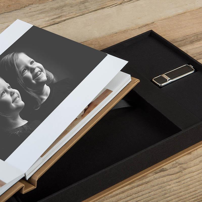 Portrait Album and USB