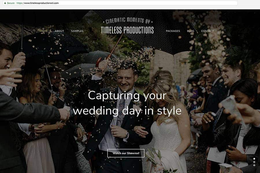 Timeless Productions Videographer