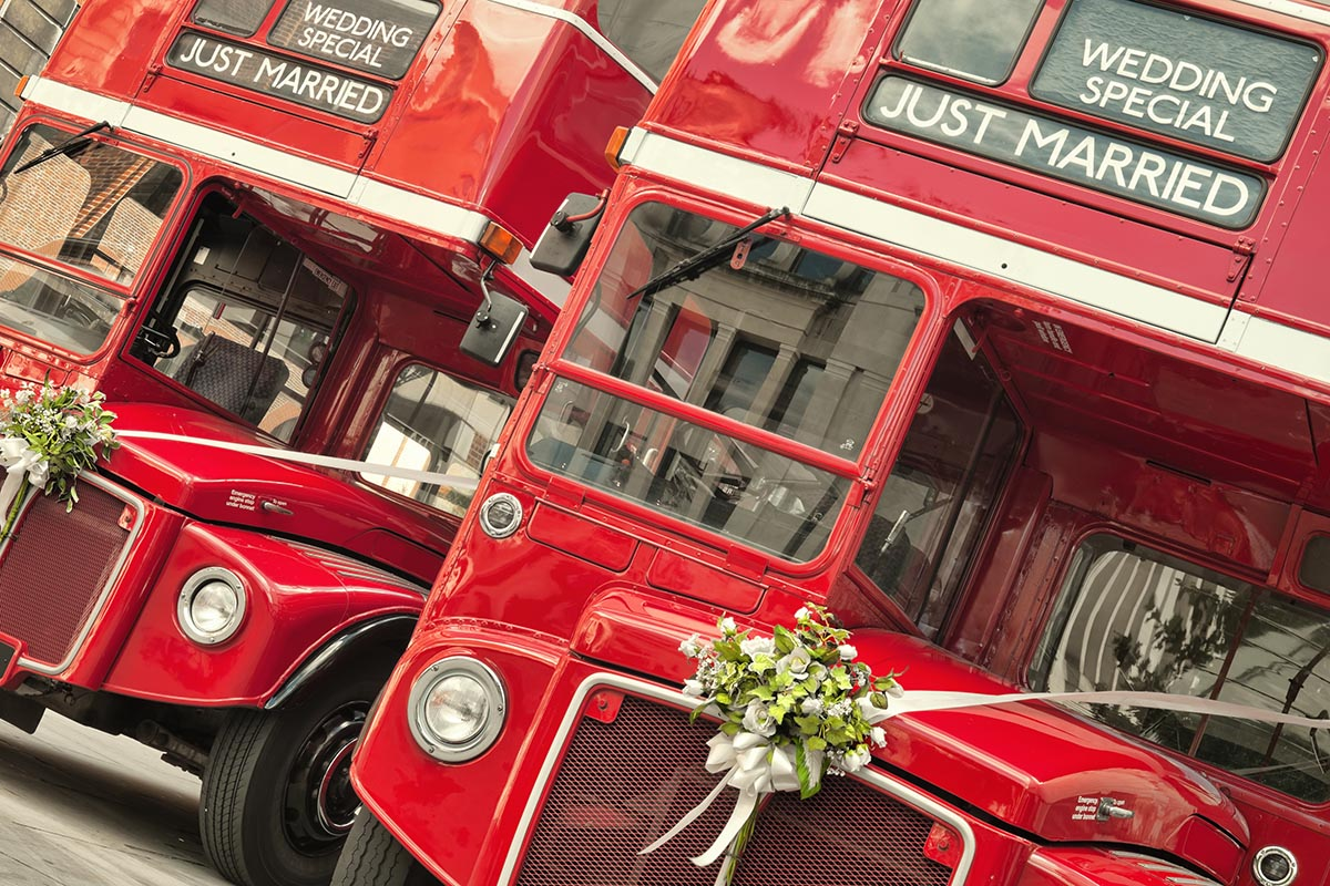 Buses as Wedding Cars?