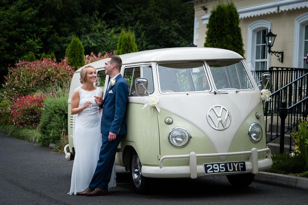 Wedding photos at Leighinmohr House Hotel
